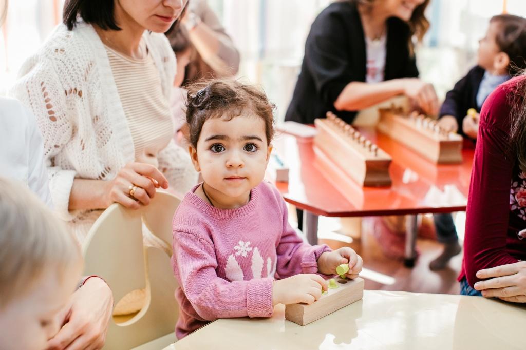 Программа развития Mommy&Me в школе London Express Junior